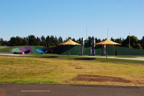 Blaxland Riverside Park - Slides and picknick area