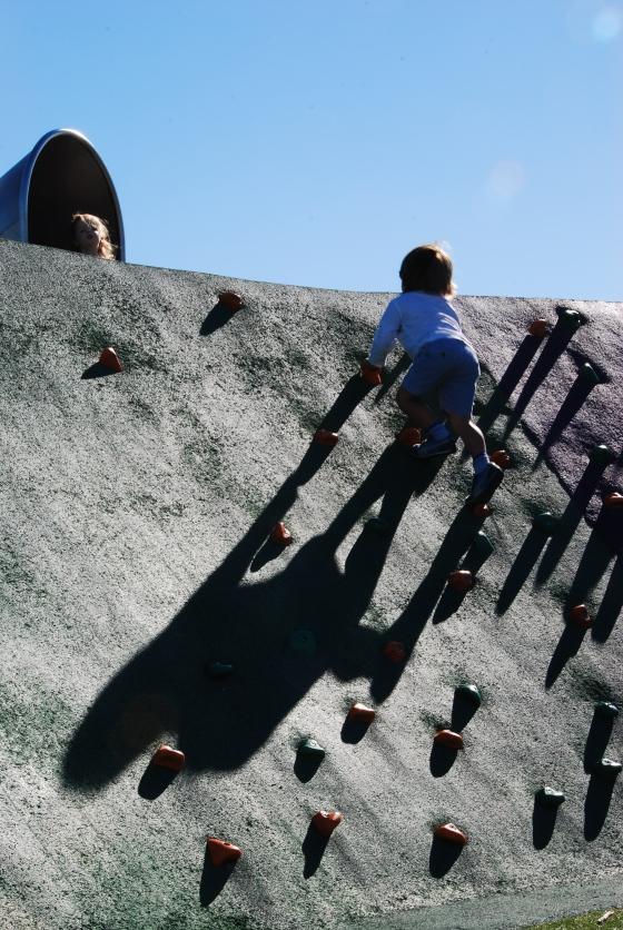 Blaxland Riverside - Children climbing