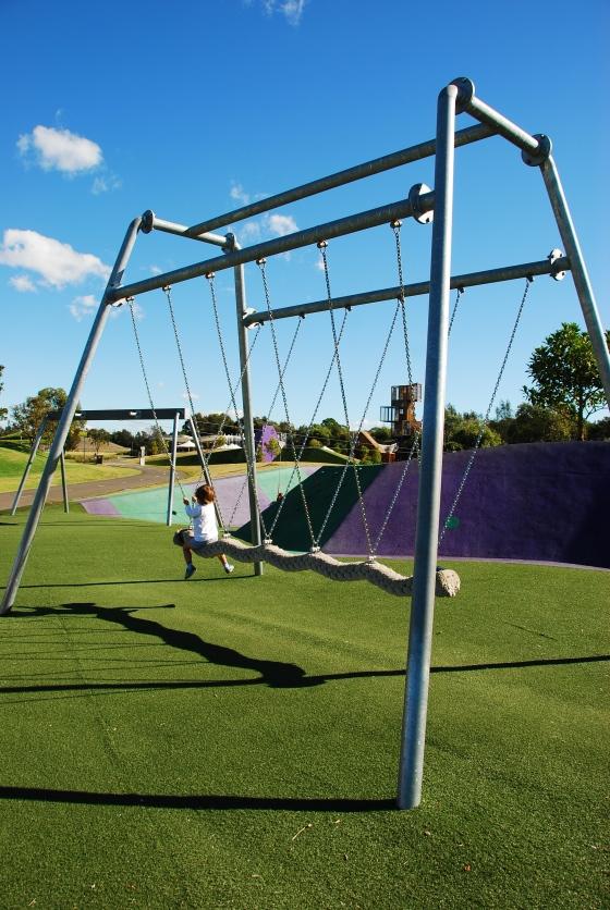 Blaxland Riverside Park - Viking Swing