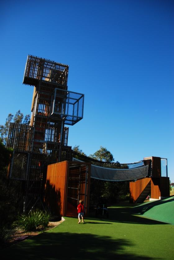 Blaxland Riverside Park - Climbing Tower