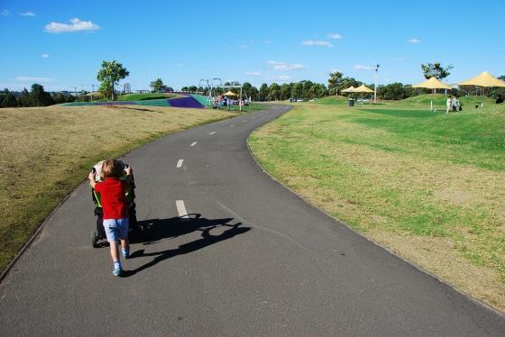 Blaxland Riverside Park - Cycling and foot path